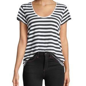 Rag & Bone Laila Linen-Blend T-Shirt